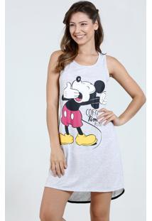 Camisola Feminina Regata Mickey Disney