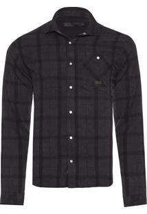 Camisa Masculina Danny - Preto