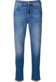 7 For All Mankind Calça Jeans Slim 'Vintage Robertson' - Azul