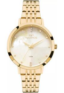 Relógio Technos Trend Dourado 2036Mjg4B