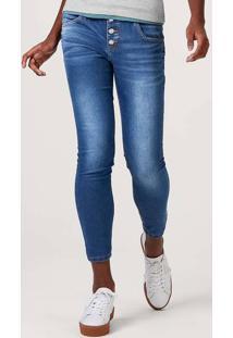 Calça Jeans Feminina Super Skinny Eco Jeans