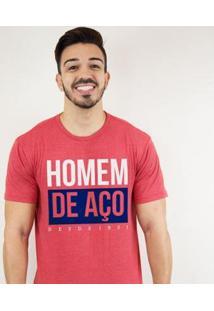 Camiseta Zé Carretilha - Bah-Tricolor-Homemde Aço Masculino - Masculino