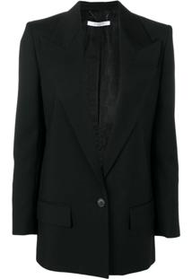 Givenchy Deep V-Neck Blazer - Preto