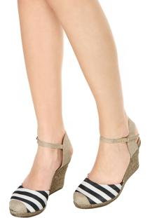 Scarpin Dafiti Shoes Espadrille Listrado