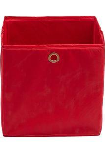Caixa Organizadora Infantil Dobrável - Vermelho