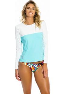 Camisa Kalini Beachwear Uv Feminina - Feminino