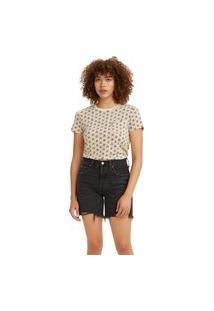 Camiseta Levi'S Perfect Pocket - 60156 Rosa