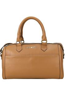 Bolsa De Couro Grace 10648 Amêndoa