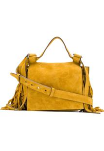 f2190f876 R$ 5381,00. Farfetch Bolsa Amarela Feminina Tng Ouro Amarelo Couro Tiracolo  Elena De - Ghisellini