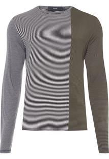 Camiseta Masculina Jersey Triple Fabrics Classic - Preto