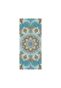 Adesivo Decorativo De Porta - Mandala - 2045Cnpt