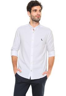 Camisa Reserva Oxford Reta Branca