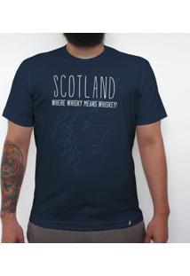Scotland - Camiseta Clássica Masculina
