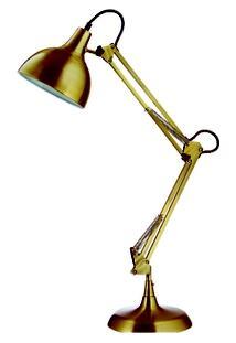 Luminária Reidi Em Metal Ouro Velho - Unissex