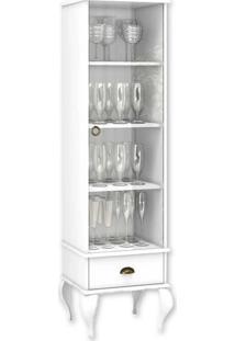 Cristaleira Movelbento Clássica 4006, Branco