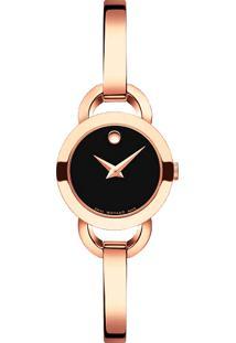 Relógio Movado Feminino Aço Rosé - 607065