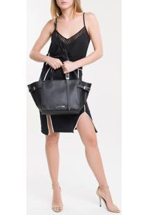 Bolsa Grande Calvin Klein Extended - Preto - U