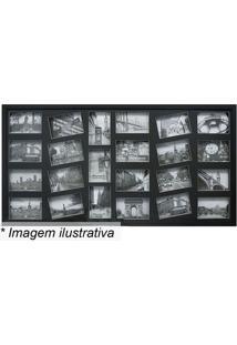 Painel Para 23 Fotos- Preto- 50X100X3Cmkapos