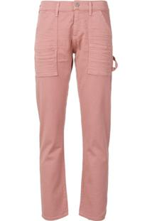 Citizens Of Humanity Calça Jeans Slim Cropped - Rosa