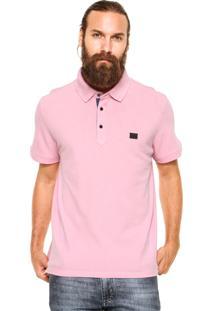 Camisa Polo Sergio K Regular Fit Rosa