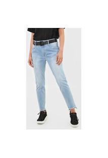 Calça Jeans Lança Perfume Slim Diana Azul