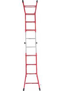 Escada Regulável De Aço Carbono Benini Es 152, 5 Degraus