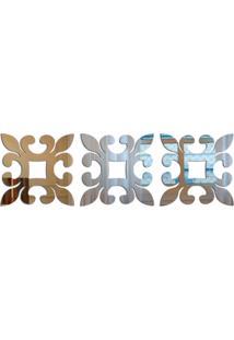 Espelho Love Decor Decorativo Geométrico Único - Kanui