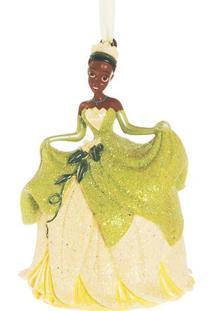 Enfeite Disney Tianaâ®- Amarelo Claro & Verde Claro- Cromus