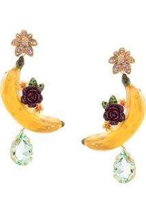 Dolce & Gabbana Banana Earring - Amarelo