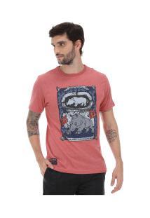 Camiseta Ecko Estampada E227A - Masculina - Vermelho