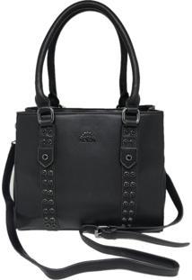 Bolsa Casual Importada Transversal Sys Fashion 8525 Preto