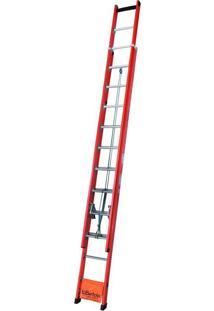 Escada De Fibra De Vidro Wbertolo, 27 Degraus - Efvd27