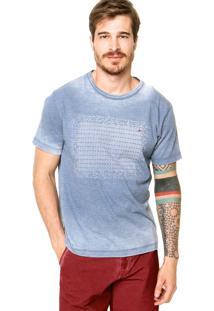Camiseta Aramis Reta Azul