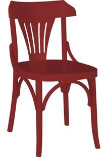 Cadeira De Jantar Opzione Bordô