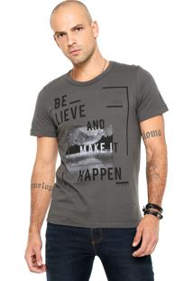 Camiseta Sommer Make It Cinza