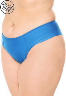 Calcinha Marcyn Hot Pant Lateral Dupla Azul
