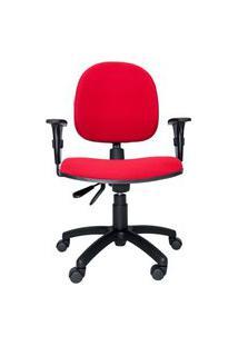 Cadeira Ergonômica Prolabore. Linha Bol. Tecido. Ajuste Lombar. Braços Ajustáveis. Gás. Base Preta. Rodízios. Prolabore Produtos Ergonômicos