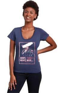 Camiseta Feminina Lucille Geek10 - Roxo