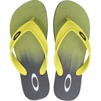 Chinelo Oakley Wave Point Masculino - Masculino-Preto+Verde Limão d39526180a410