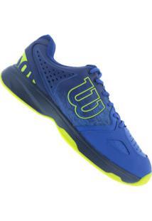 Tênis Wilson Energy - Masculino - Azul/Verde Cla