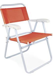 Cadeira Master Aço Fashion Coral Mor