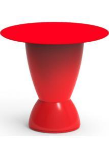 Mesa De Centro Argo Vermelho