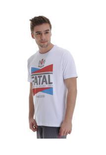 Camiseta Fatal Estampada 22159 - Masculina - Branco