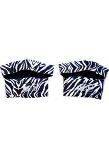 Luva Nc Neoprene Palmar Zebra