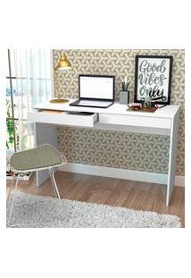 Mesa Escrivaninha Nova Mobile Madri Com 2 Gavetas