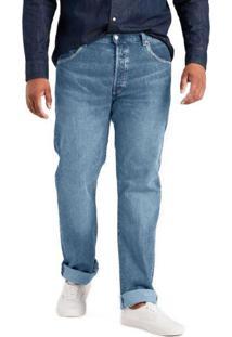 Calça Jeans Levis 514 Straight Média Azul