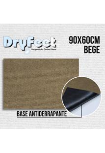 Tapete Dryfeet Bege 90X60Cm