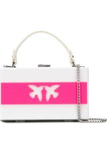 Pinko Bolsa Love - Branco