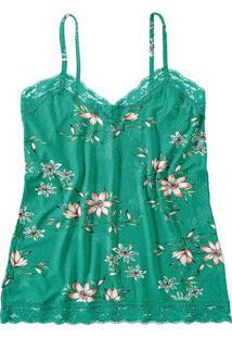 Blusa Floral Renda Malwee