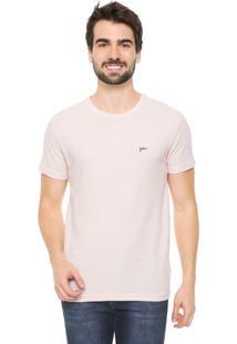 Camiseta Yachtsman Logo Rosa
